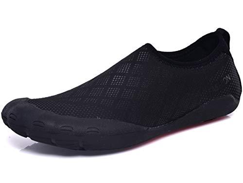 GJRRX Badeschuhe Damen Herren Schwimmschuhe Kinder Surfschuhe Barfuß Schuhe Wasserschuhe Strandschuhe Aquaschuhe Rutschfeste Neoprenschuhe 35-46