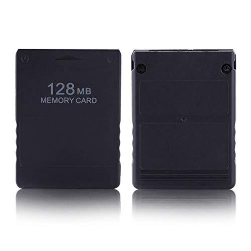 Lorsoul Speicherkarte Speichern Spieldaten-Stick-Modul 8/16/32/64 / 128MB Ersatz für Playstation PS2 Spielkonsole