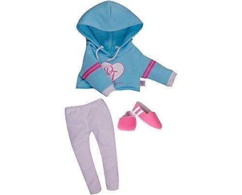 Chad Valley DesignaFriend Sonnenbrillen Blau Hoody Outfit Puppe nicht im Lieferumfang enthalten