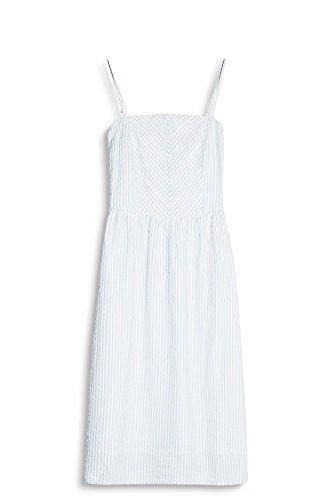 edc by ESPRIT Damen Kleid Weiß (Off White 110)