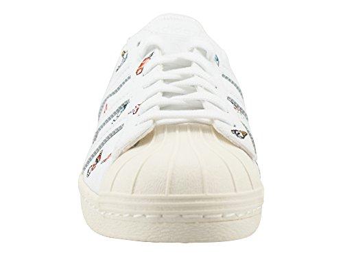 adidas Damen Schuhe / Sneaker Superstar 80s W S weiß beige