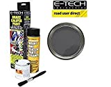 e-tech pinza freno Paint – grafite – Kit completo Inc Paint/Cleaner & Brush