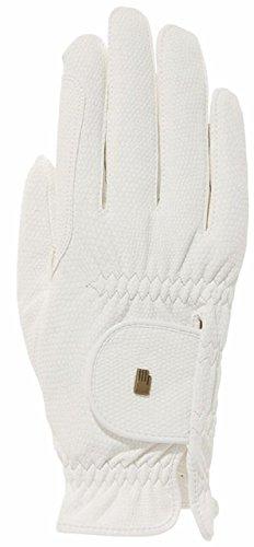 Roeckl Sports Roeck Grip Winter Handschuh, Unisex Reithandschuhe, Weiß, 10