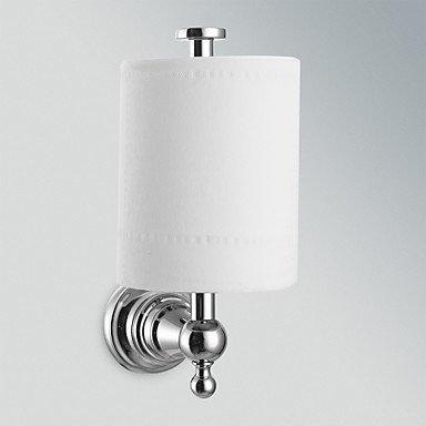 Accessori da bagno qmm, finitura cromata bagno accessori per rack ottone toile carta con coperchio