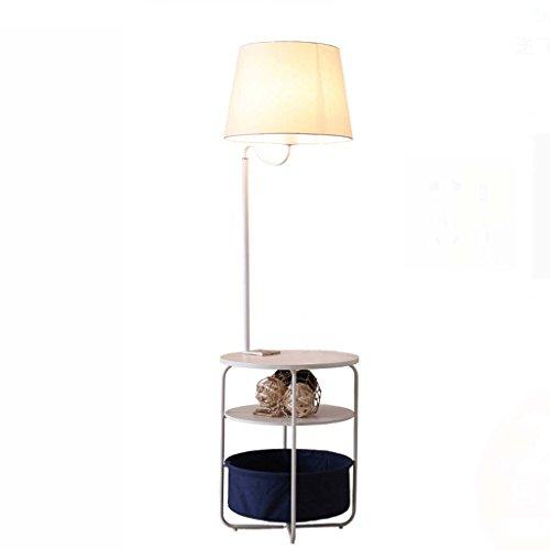 Classic Regal Couchtisch (MASOSER Nordic Stehleuchte Wohnzimmer Schlafzimmer Nachttischlampen Vertikale Ablage Boden Tbale Lampe Einfache Moderne Sofa Couchtisch Lichter)