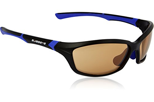 Swiss Eye Sportbrille Drift Black Matt/Blue