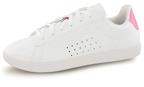 Le Coq Sportif Courtset Blanc/Rose 1910155 Sneaker pour...