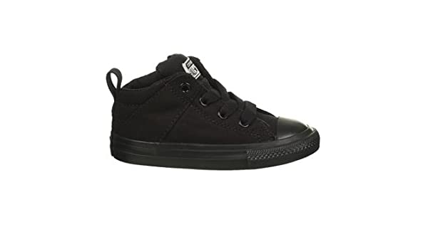2393d4a34cb3 Converse Unisex Baby Chuck Taylor All Star Axel MID (Inf Tod) - Black Black  - 5 Infant  Amazon.in  Shoes   Handbags