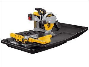 Dewalt D24000-LX Wet Tile Saw with Stand, 250 mm Wheel Diameter, 110V - Taglio Wet Saw