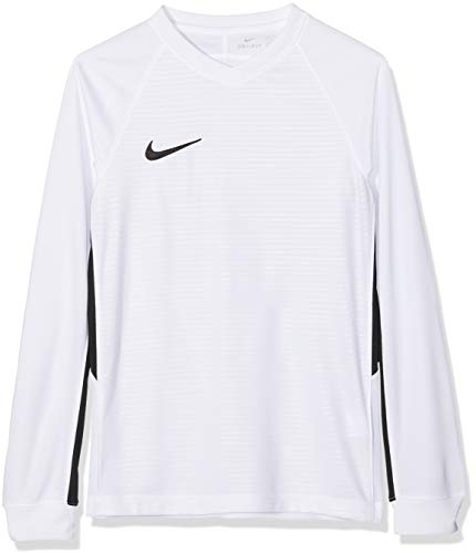 Nike Kinder Tiempo Premier Trikot, weiß (White/Black), L
