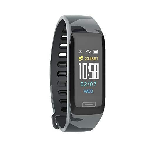 Smart Uhr des Aktivitätsmesser Pedometer Smart Armband Smart Band Blutdruckmessgerät Pulsmonitor Schlaf gage eingehende telefonische Benachrichtigung Kamerafunktion mit langer Wartezeit iphone & Andro