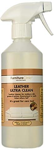 Nettoyant Cuir Ultra-Puissant – 500ml Produit de nettoyage pour cuir