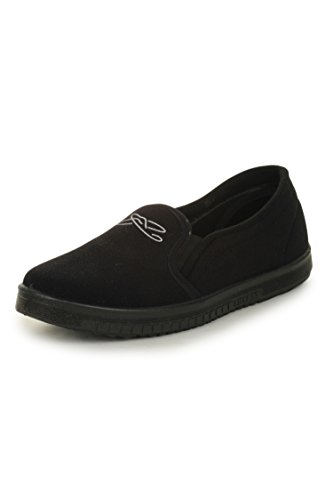 Gliders Men's Black Loafers and Moccasins - 6 UK/India (39 EU)  available at amazon for Rs.194
