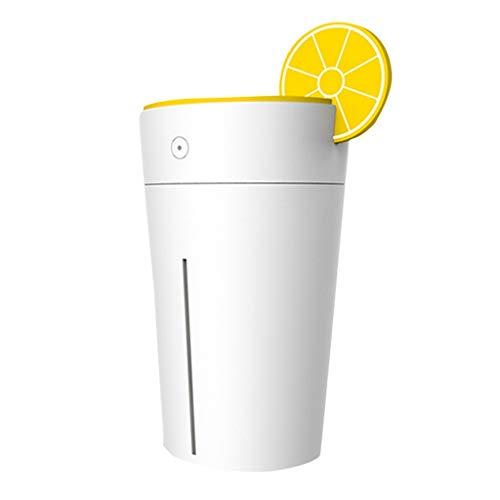 Dicomi Humidificador USB portátil Forma Taza limón