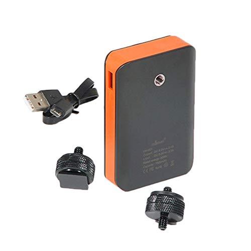 KNOSSOS Wasserdichtes 7800mAh Power Bank & Ladegerät für die Kamera der np-fz100 Kamera