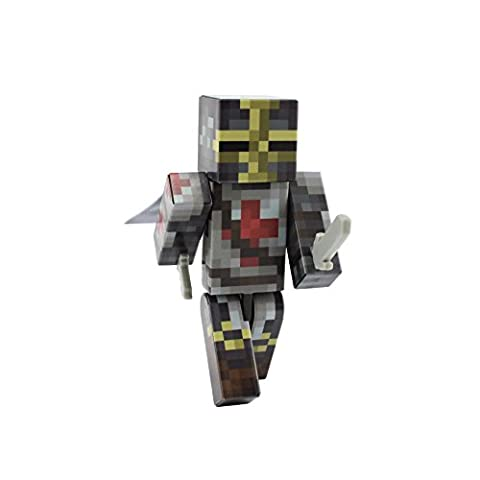 Templar Knight Action Figure Toy, 10cm Custom Series Figurines, EnderToys