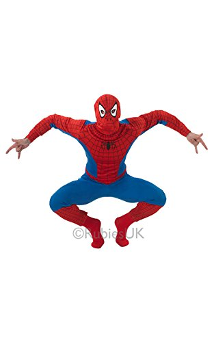 Spiderman adult costume by Marvel Adult Standard Official License