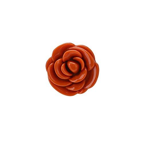 Toamen Rose à Lèvres pétale de Rose Durable Imperméable Doux Hydratant Maquillage à Lèvres Lèvre (C)