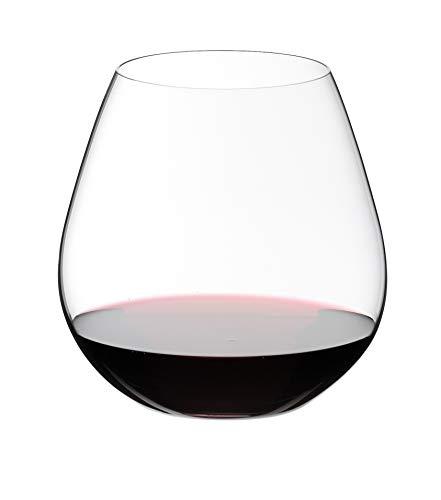 RIEDEL Rotweinglas-Set, 2-teilig, Für Rotweine wie Pinot Noir und Nebbiolo, 690 ml, Kristallglas, O...
