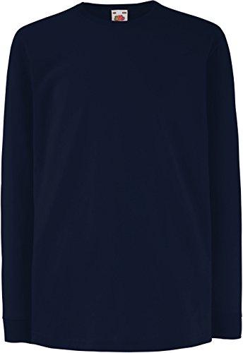 Langarm T-Shirt \'Kids Value Weight T\' 152cm,Deep Navy