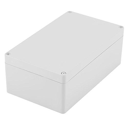 Akozon-Anschlussdose, Wassergeschützter IP65 ABS-Projektkasten-Instrumentenkoffer Gehäuse Fall Verdrahtung Anschlussdose DIY Kunststoff Gehäuse Fall Power Abzweigdose(200 * 120 * 75mm) (Junction Box)