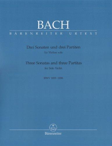 Sonates et Partitas - Violon