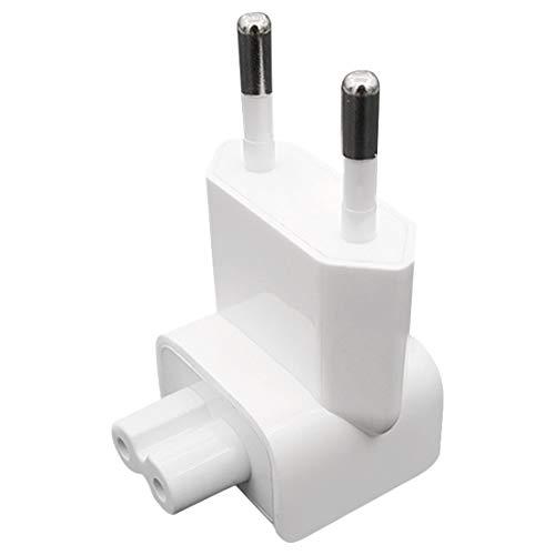 Ladegerät AC Abnehmbarer elektrischer Euro-EU-Stecker Duck Head Netzteil USB-Ladegerät für MacBook -