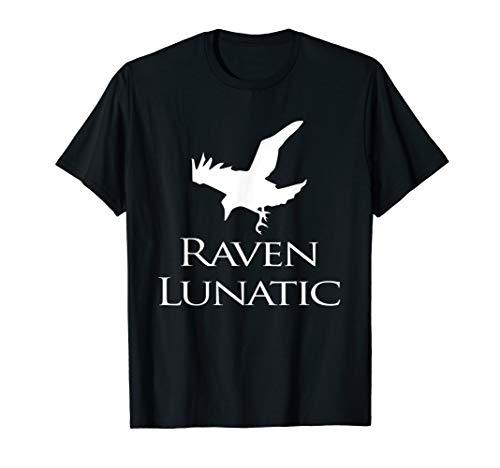 Black Bird Kostüm Ideen - Raven Lunatic Bird Lustiges T-Shirt für