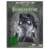 Frankenweenie 3D +2D Limited präge Schuber [Glow in the Dark] + Art Cards Edition (Erstauflage) - Blu-ray