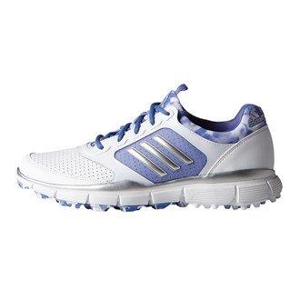 adidas, Scarpe da golf donna MULTICOLORE Blanco / Plata / Azul 40