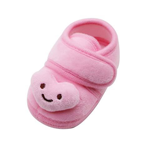 Pingtr Klassische Kleinkind Schuhe - Neugeborene Säuglingsbabys Plüsch Sterne Wolke Winterstiefel Weiche Sohle Warme Schuhe