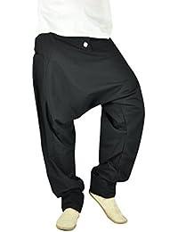 pantalon ethnique confortable pour hommes, pantalon bouffant hommes de mode hippie, vêtements originaux de virblatt M - XL-Freudentanz