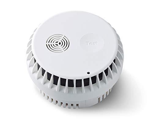 SET-ERGÄNZUNG Gigaset Rauchmelder - mit intelligenter App-Steuerung - Brandmelder mit 10 Jahres Batterie - Sirene über 85dB Laut - mit kostenfreier App - Smart Home Feuermelder
