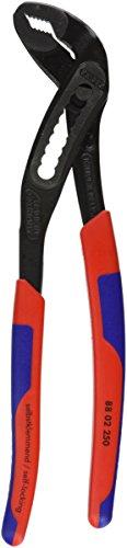 Knipex 88 02 250 SB Alligator Pinces multiprise 250 mm avec gaines bi-matière en emballage blister