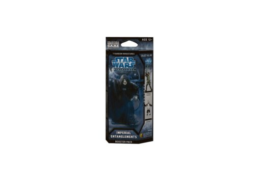 Wizards of The Coast 21544 - Star Wars: Imperial Entanglements Booster (Star Wars Miniatures Jedi)