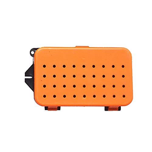 Provide The Best S/M/L Größe Worm Box Breath Kunststoff Fischköder-Speicher-Fall Live-Earthworm Köder Container -