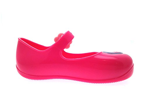Peppa Pig Rose Coque pompes Mary Jane Chaussures Sandales de plage pour enfants incluses Taille 3–9 Rose - Peppa Pig Jelly Pumps