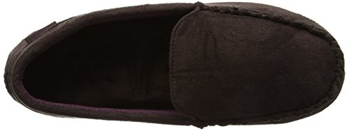 Isotoner Moccasin Driving Sole Slippers, Chaussons Homme Marron (Brown)