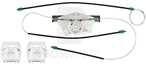 Bossmobil VOLKSWAGEN BORA, VW Golf 4, Vorne Rechts 4/5 Türig, manuell oder elektrischer Fensterheber-Reparatursatz