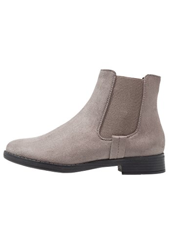 Even&Odd Chelsea Boots Damen in Grau - Stiefel mit Kurzschaft, 37