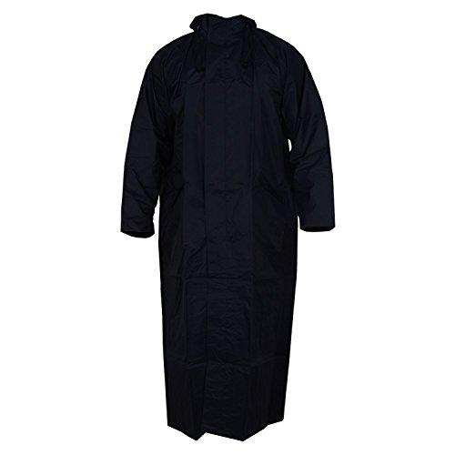 Banter Women's Black Polyester Plain Over Raincoat (Free_Size)