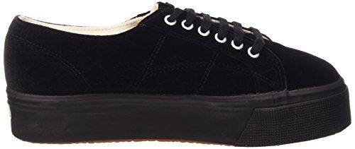 Superga 2790-velvetw, Chaussures femme 999 Noir