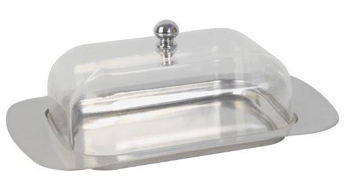 equinox-506506-burriera-in-acciaio-inossidabile-con-coperchio-in-acrilico-altezza-7-cm