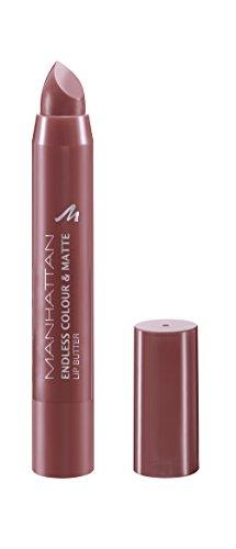 Manhattan Endless Colour & Matte Lip Butter - Lippenstift mit langanhaltendem Matt-Effekt in Lila - Farbe Verry Berry 950 - 1 x 3g