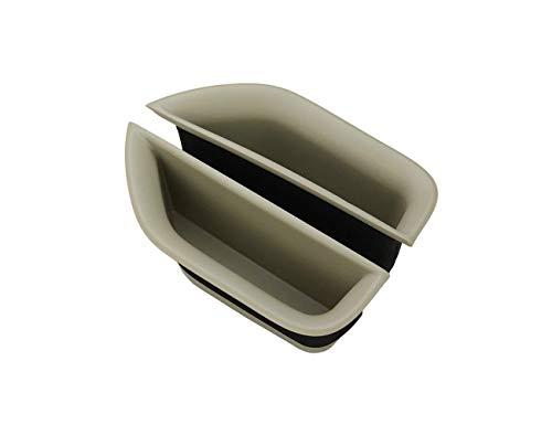Boîte de Rangement pour poignée de Porte Boîte de Rangement pour accoudoir de Gant pour Classe E W212 E200 E260 E320 E400 2010-2015, 2 pièces/Ensemble, arrière Beige