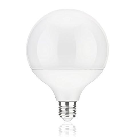 parlat E27 LED Globe ampoule G120 (12cm Kopfdurchmesser) 18W =104W 1400lm 230° blanche-chaude