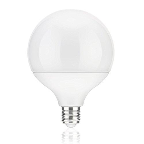 parlat E27 LED Globe Lampe G120 (12cm Kopfdurchmesser) 18W =104W 1400lm 230° weiß (4100K) (Kunststoff Globe Lampe)