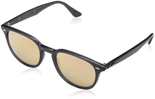Ray Ban Unisex Sonnenbrille RB4259, Mehrfarbig (Gestell: Opal grau,Gläser: orange 62307J), Medium (Herstellergröße: 51)