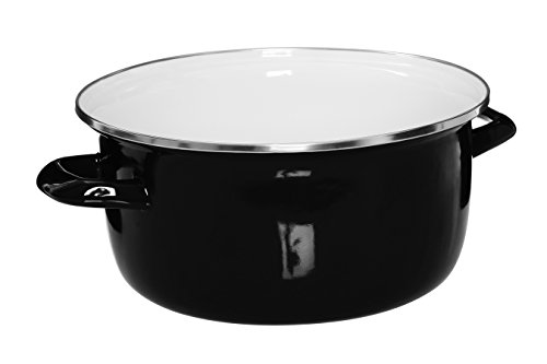 31iN1kJP6XL - Premier Housewares (16 x 33 x 27 cm), 5 L Deep Fryer with Pyrex Lid - Black