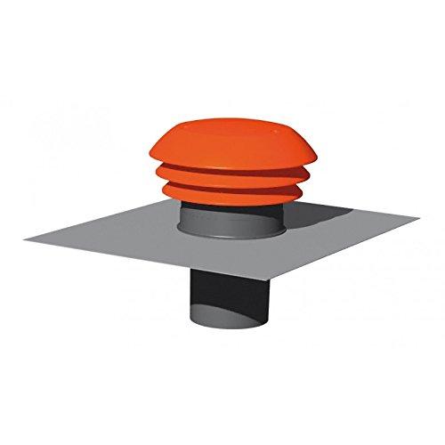 Atlantic Chapeau toiture d160 422962, Rouge